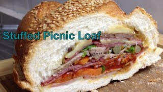Stuffed Picnic Loaf Video Recipe Cheekyricho