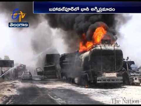 Oil Tanker Truck Explosion   Kills at Least 120   In  Pakistan