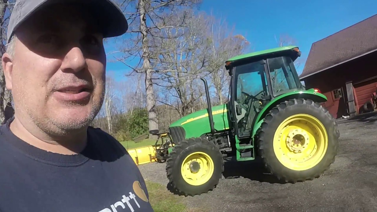 John Deere 5525 91 Hp Tractor | John Deere 5025 Series