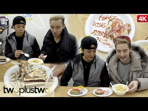 Korean Convenience Store Gourmet Food Challenge feat. Amber Part 1