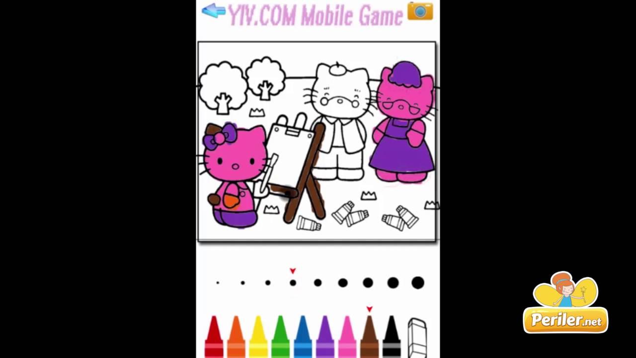 Hello Kitty Boyama Kitabı Youtube