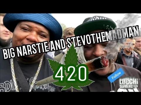 Big Narstie 420 & Stevothemadman @Hyde Park London