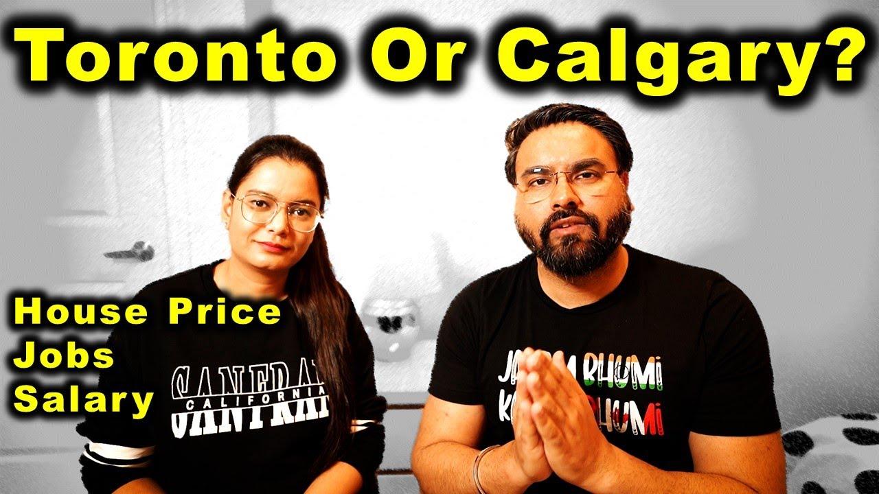 Why Leave Toronto & Move To Calgary Alberta? | Canada Couple