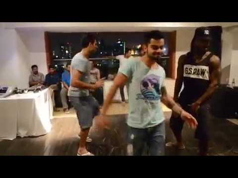 Cricket Stars Dancing On Indian songs||