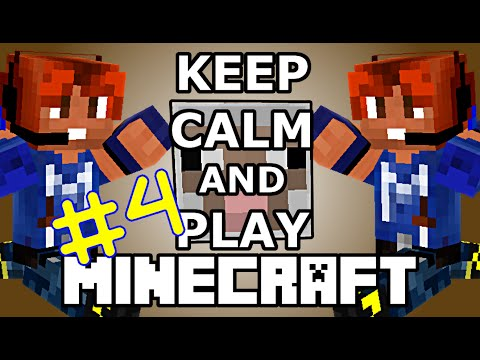 Keep Calm & Play Minecraft #4 PECORE STUPIDE