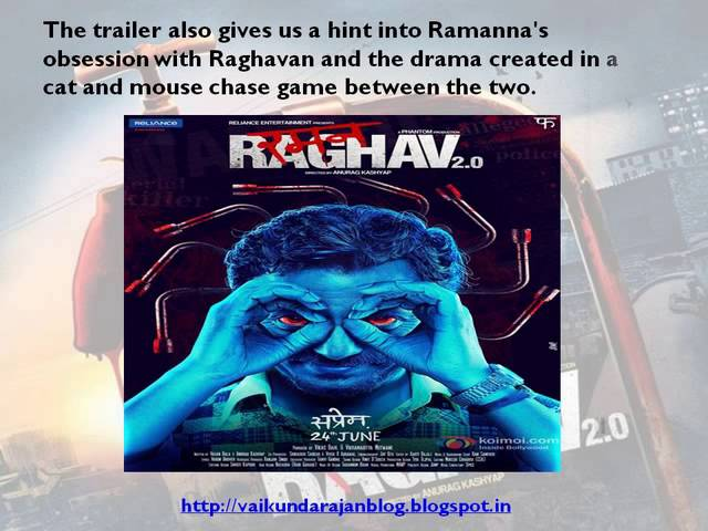 Thumbnail for Vaikundarajan Reviews The Trailer Of Raman Raghav 2.0