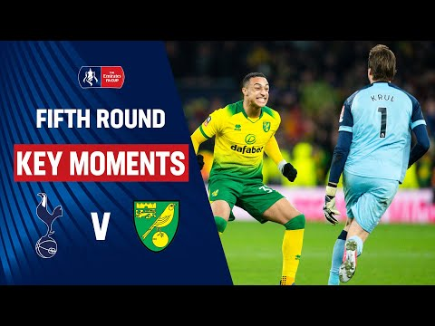 Tottenham Hotspur vs Norwich City | Key Moments | Fifth Round | Emirates FA Cup 19/20