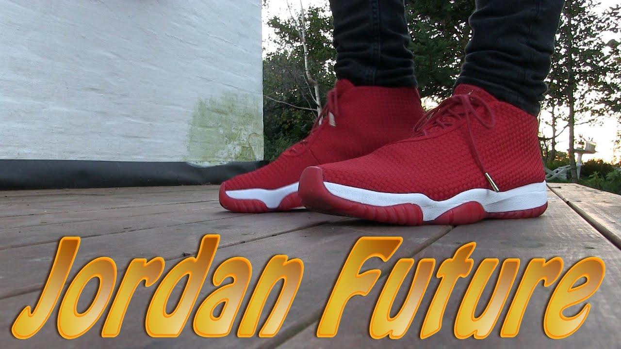 half off d6fc0 7503f Air Jordan Future (Gym Red) - On Feet