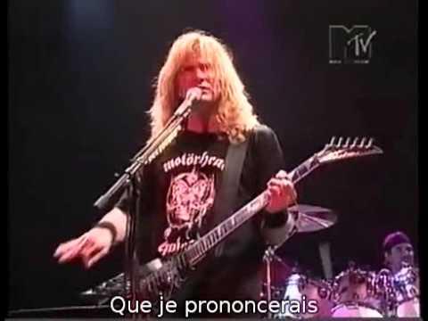 Megadeth - (1994) A Tout Le Monde (Live) (Sous Titres Fr)