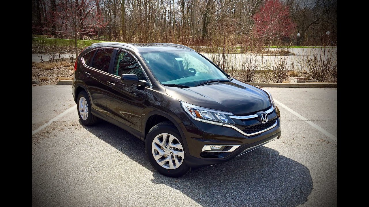 2015 honda cr-v ex-l awd start up, review, & test drive