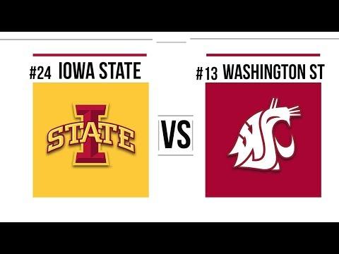 2018 Alamo Bowl #24 Iowa State vs #13 Washington State Full Game Highlights
