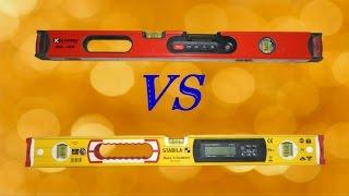 электронные уровни/Kapro Vs  Stabila/Сравнительный обзор