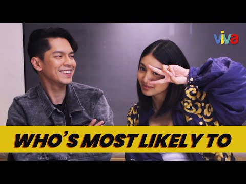 Who's Most Likely To with Nadine Lustre and Carlo Aquino