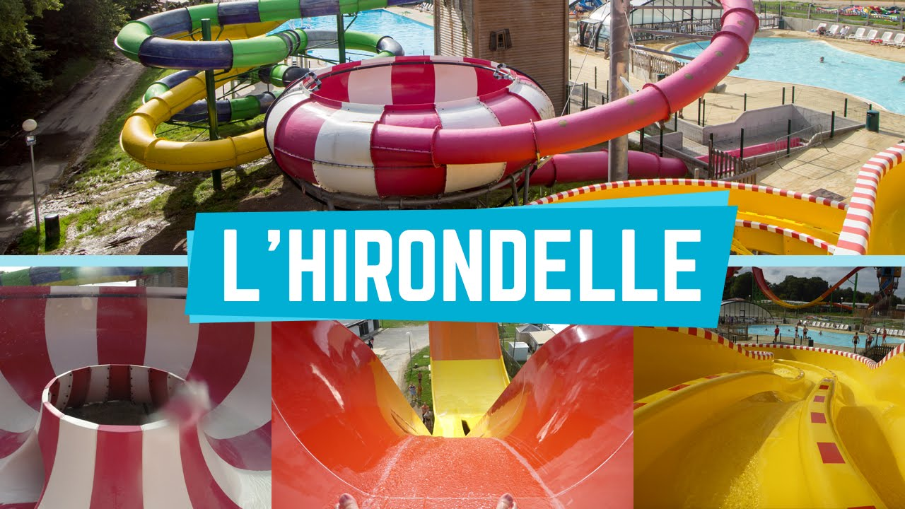 Franceloc Lu0027Hirondelle   All Slides (Tous Les Toboggans) Onride POV    YouTube