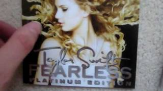 Taylor Swift Fearless (Platinum Edition) Unboxing!