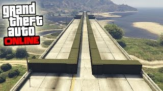 EL MEGA SUPER TUNEL INFERNAL - Gameplay GTA 5 Online Funny Moments (Carrera GTA V PS4)