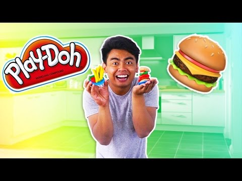 Thumbnail: DIY PLAYDOH BURGER!