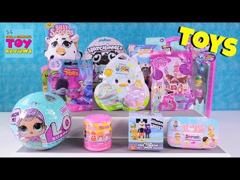 Thumbnail: Disney Baby Secret MLP LOL Surprise Hatchimals Toy Review Opening | PSToyReviews