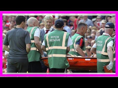 Egypt midfielder Elneny injured playing for Arsenal By J.News