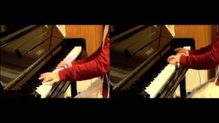 【Piano】いとおしい人のために(ふしぎ遊戯)【Duo Arrange】