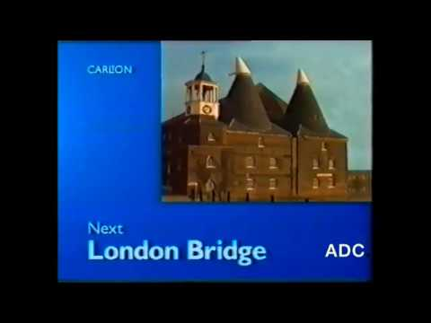 Carlton TV 25th November 1996 London Bridge Announcer Hilary Holden