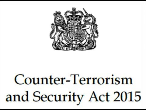 Government Policies: Counter Terrorism and Security Act 2015