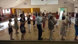 LA TAP O MAINS DÉMONSTRATION + CHORÉGRAPHIE EN GROUPE (Danse en ligne) #thierrymonicault