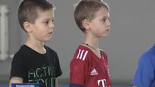 В станице Казанской готовят будущих чемпионов футбола
