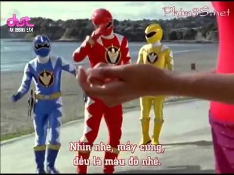 Siêu Nhân Khủng Long Sấm Sét (Power Rangers) Tập 10