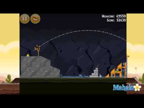 Angry Birds Mine And Dine Level 16-8 3 Stars362