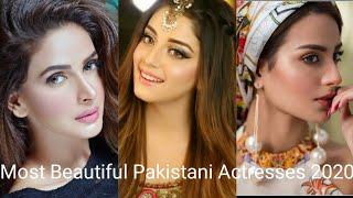 Top 10 Most Beautiful Pakistani Actresses 2020