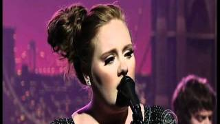 Adele - Chasing Pavements (Live Debut on The Late Show with David Letterman)