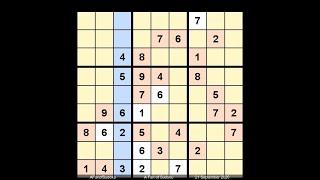 How to Solve New York Times Sudoku Hard September 21, 2020