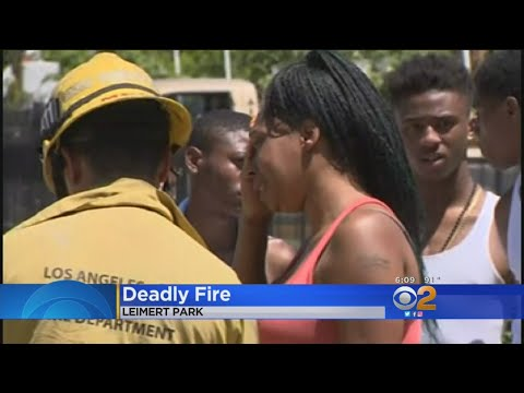 Boy, 8, Woman, 67, Die In Leimert Park House Fire