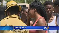 Boy, 8, Woman, 67, Die In Leimert Park House Fire