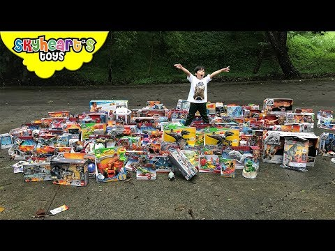 1,000 JURASSIC WORLD TOYS Delivery! Skyheart's Daddy Bought Huge Lot Of Dinosaurs For Kids
