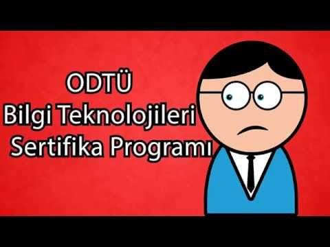 bilgi teknolojileri sertifika programı  odtü