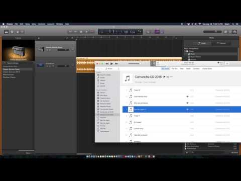 How to Import a song into GarageBand      SUPER EASY!!