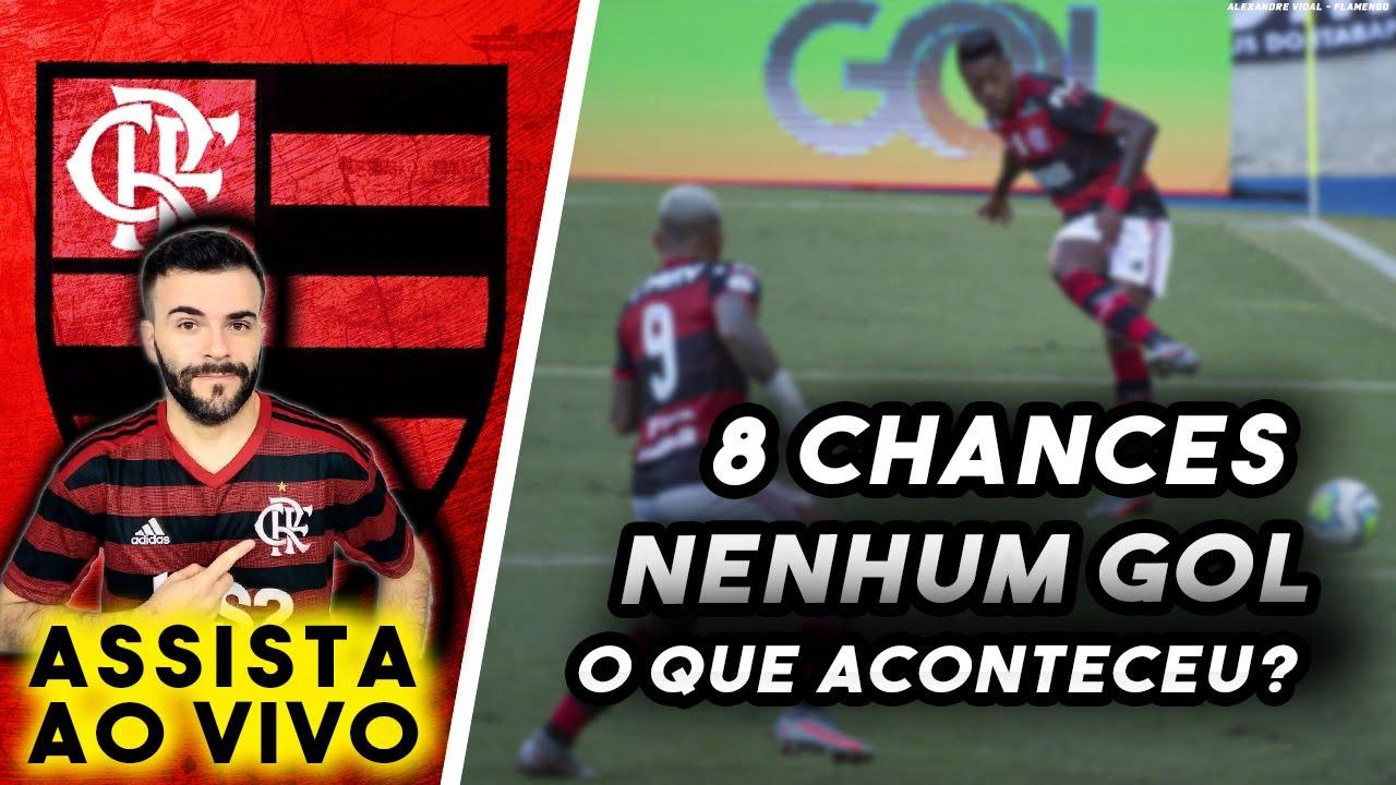 Ataque do Flamengo vem perdendo vários gols, o que está acontecendo? AO VIVO