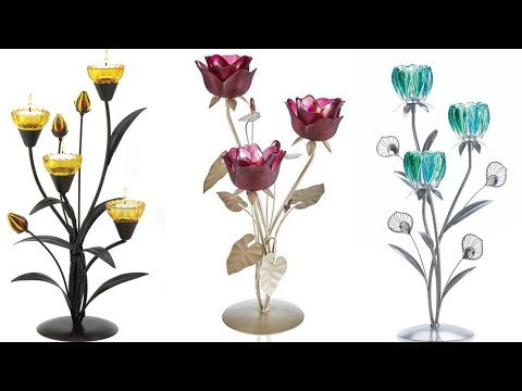 Amazing Flower Tea Light Holder  / Tea light  Candle Holder Stand Images Collection