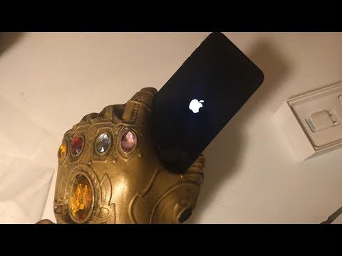 How can i restart my iphone xs max