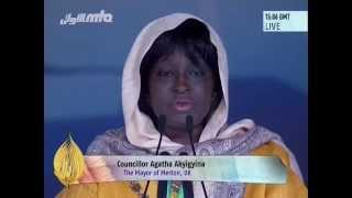 Agatha Akyigyina, The Mayor of Merton at Jalsa Salana UK 2014