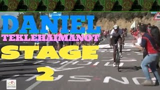 Eritrea - Daniel Teklehaimanot - Giro d'Italia  2017 - Stage 2 - KING of the Mountains