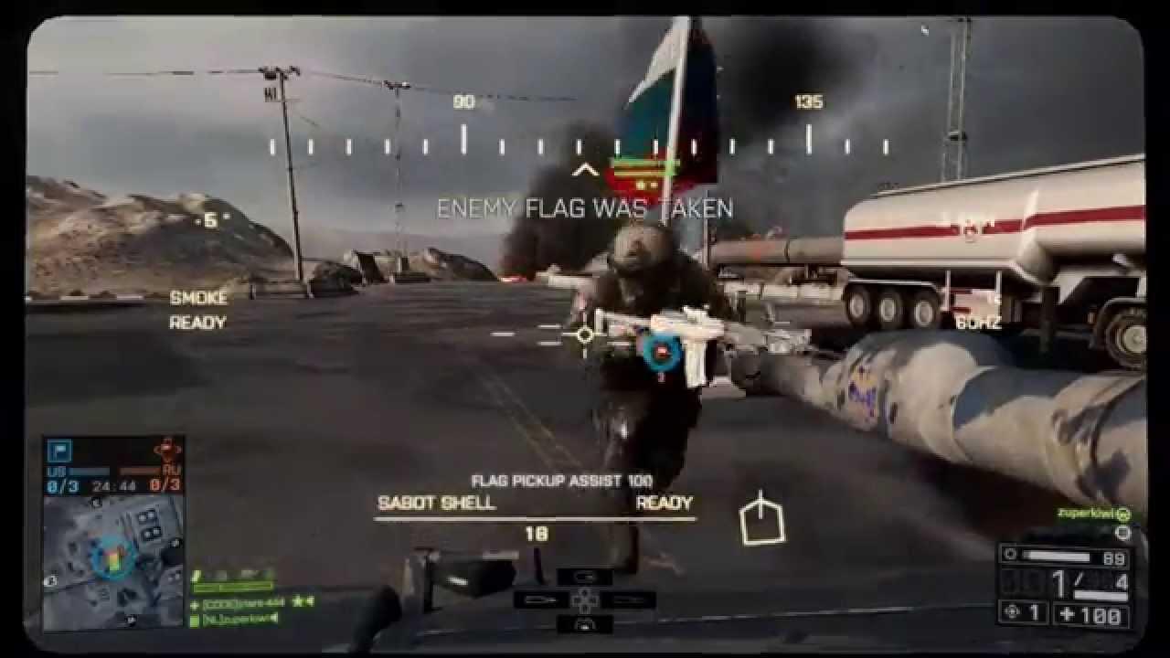 Air mail assignment Battlefield 4