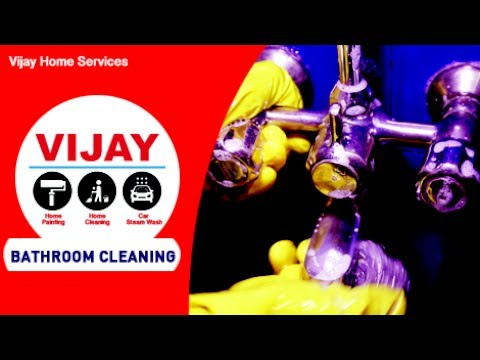 Deep Bathroom Cleaning Service - Vijay Home Services