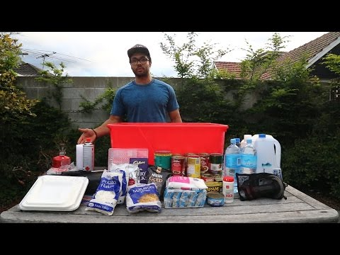 Earthquake Emergency Kit Preparation | The Earthquake Guy