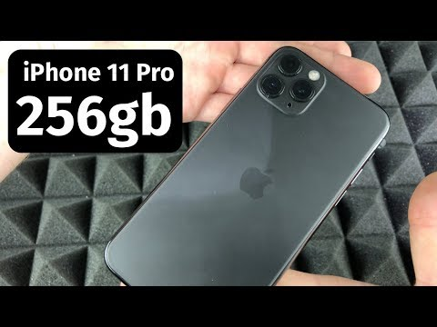 iPhone 11 Pro - 256gb Space Gray Unboxing