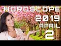 Today's Daily Horoscope April 2, 2019 Each Zodiac Signs