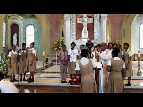 The holy trinity high school's healing service vlog #10