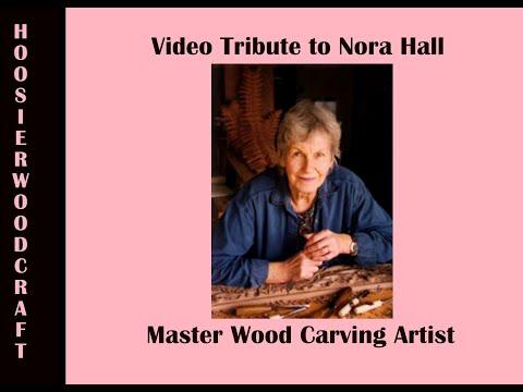 Nora Hall, Master Wood Carver